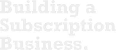 Building a Subscription Business logo